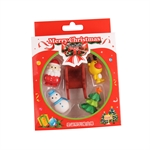 Hoter® Lovely Christmas Sleigh Erasers, Christmas Gifts, Random Color