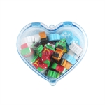 Hoter® Lovely Christmas Heart-shaped Erasers, Christmas Gifts, Random Color