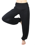 Womens Soft Elastic Waistband Fitness Yoga Herem Pants, Colors Available, Yoga & Pilates, Price/Piece