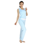 Womens Soft Fitness Yoga/Pilates/Dancing Sets--Bra Top/Vest/Pants, Three Pieces, Price/Set