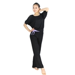 Fashion Bare-shouldered Design Fitness Yoga/Dancing Sets, Top & Pants, Price/Set