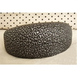Hoter Large Clamshell Filigree Embossed Hard Sunglasses Case, Gift Idea
