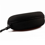 Hoter Large Zipper Hard Sunglasses Case, Black, Gift Idea, For Women/Men