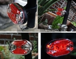 Cycling 9 LED Bicycle Bike Rear tail Light(red lights)