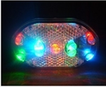 Cycling 9 LED Bicycle Bike Rear tail Light(multi-colour lights)